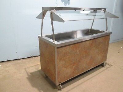 """""""duke"""" Hd Commercial (Nsf) Refrigerated 60""""w Portable Cold Food Buffet/salad Bar"""