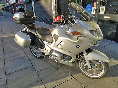 BMW R1150 RT Motorcycle Twin Spark ABS Long MOT New Tyres Full Luggage 2004