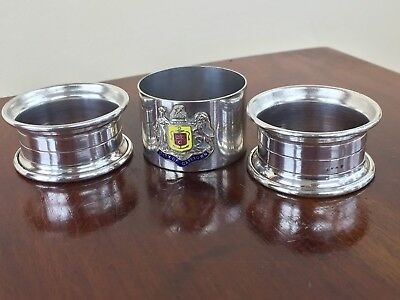 Tree Silver Plated Napkin Rings