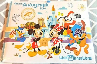 NEW Mickey Mouse and Friends Autograph Book - Walt Disney World 2018 Mickey Minn
