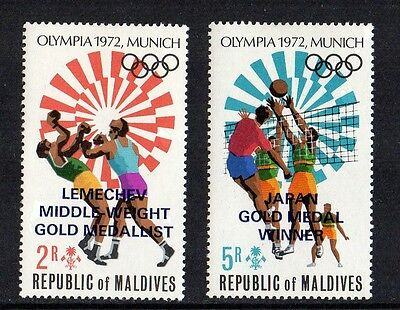 Maldives - 1973, Olympic Gold Medal Winners, LHM