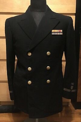 WWII US Coast Guard Officer's Uniform (made by Saks Fifth Ave)