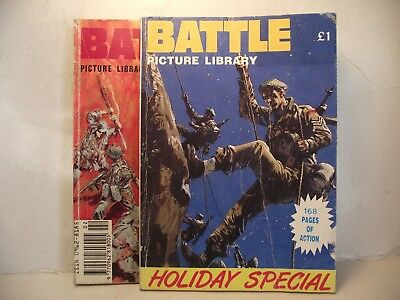 BATTLE PICTURE LIBRARY HOLIDAY SPECIAL & MONTHLY No 2