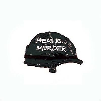 The Smiths Morrissey 'Meat Is Murder' Pin Badge A Guy Called Minty, Madchester..