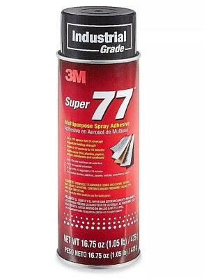 New 3M 77 Super Multipurpose Spray Adhesive (Case of 12) / Price is for 12 Can