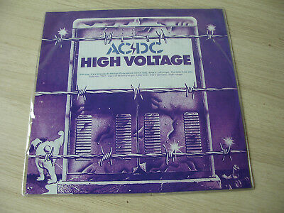 "AC/DC  Picture disc  "" High Voltage ""  MEGA RARE  ONLY 100 Copies!!"