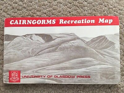 Vintage Cairngorms Recreation Map