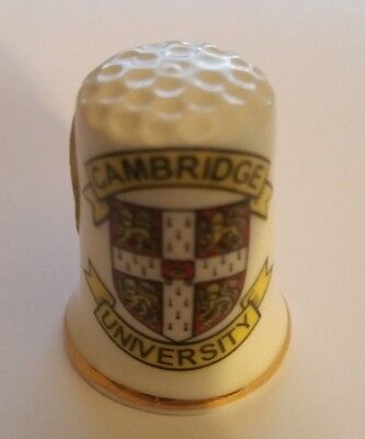 Vintage Cambridge University  Thimble  No Box