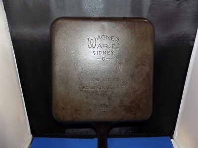 Vintage Wagner Ware Sidney O Bacon And Egg Breakfast Skillet 1101A