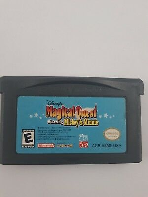 Magical Quest Starring Mickey and Minnie (Nintendo Game Boy Advance, GBA)