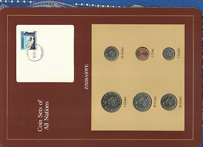 Coin Sets of All Nations Zimbabwe  1980 - 1983 UNC 15c stamp