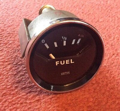 SMITHS  FUEL GAUGE  RECONDITIONED - Tested , TRIUMPH , MG , KIT