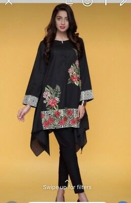 Mausummery Small Embroidered Cotton Kurta
