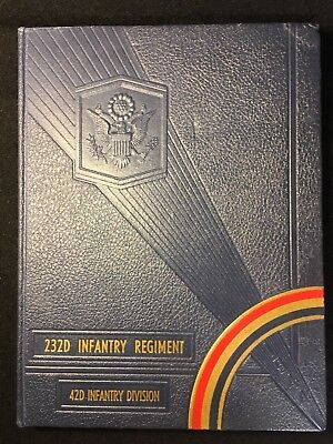 Army 1944 WW II 42nd Rainbow Infantry Division Photo Military Yearbook Original