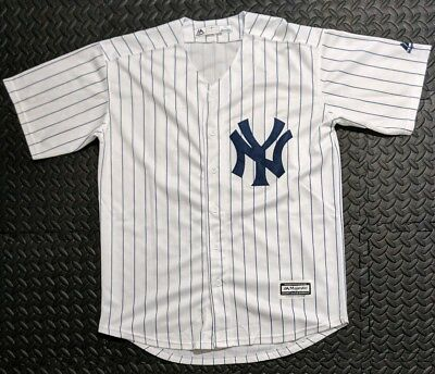 876bc690 MAJESTIC COOL BASE Aaron Judge New York Yankees Jersey Size Men's ...