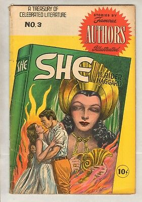 Stories By Famous Authors #3 (VG) (1950, Seaboard) She!