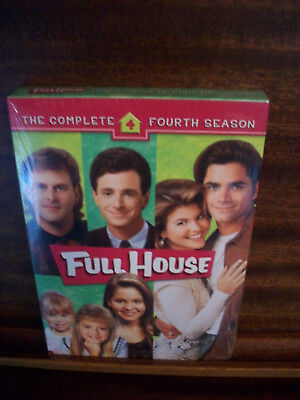 Full House: The Complete Fourth Season (DVD, 2006, 4-Disc Set) Brand New Sealed