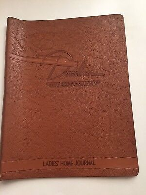 Union Pacific Domeliner Passenger Train Leather Magazine Holder Ladies Home Jour