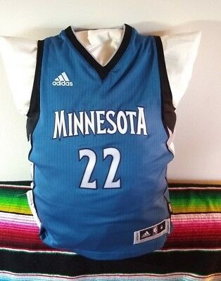 4b3b56e8712f Andrew Wiggins Timberwolves Swingman Jersey Youth Adidas NBA Minnesota
