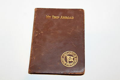 Vintage My Trip Abroad United States Lines Cruise book 1926 S.S. Leviathan