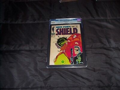 Nick Fury  Agent of SHIELD  #5   1968   CGC graded Silver Age