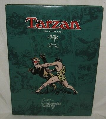 Tarzan In Color Book Vol 1 1931 -1932 HC/DJ Foster Hogarth