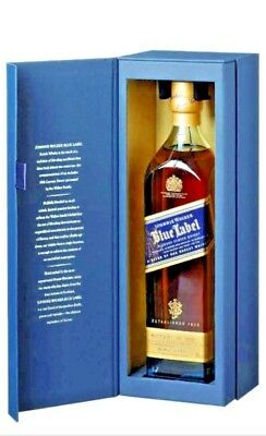 Johnnie Walker Blue Label Blended Scotch Whisky 1L 1000ml serial numbered NIB