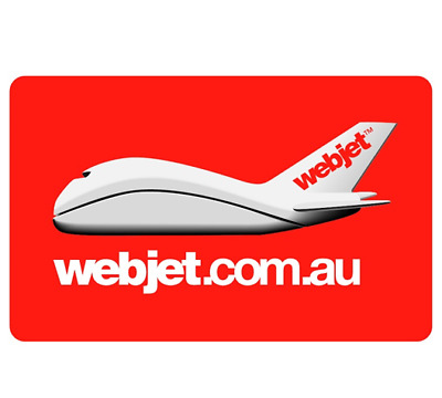 Webjet eGift Card $50, $100, $200, $500 - Email Delivery