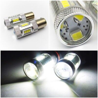 Fit FORD SAMSUNG 15 SMD 1156 Projector LED Courtesy Light Bulb 7506 P21W BA15s