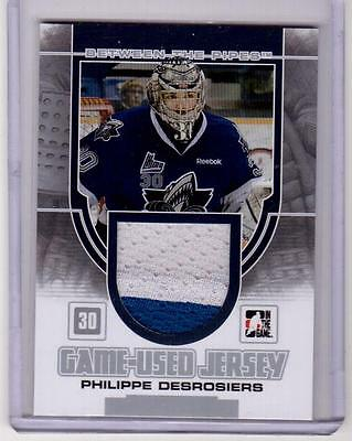 PHILIPPE DESROSIERS 13/14 ITG Between the Pipes BTP Rookie Jersey #22 Oceanic