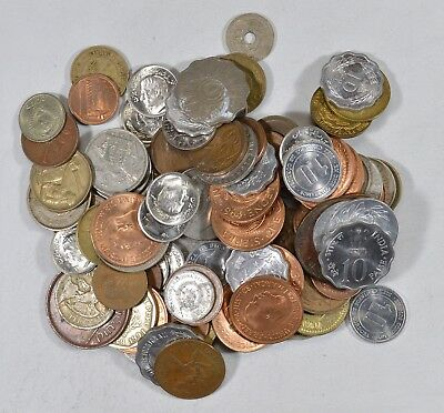 Roughly a POUND of Mixed World Coins - Great Mix *190