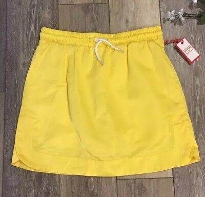 NWT Hunter For Target Yellow Raincoat Material Skorts Skirt Size XL NEW