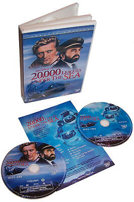 Walt Disney Presents 20,000 LEAGUES UNDER The SEA 2-Disc Special Edition DVD