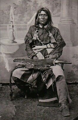 Kintpuash Captain Jack Modoc Chief Native American Indian CA OR, Modern Postcard