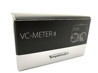 New VOIGTLANDER VC Speed Meter II - BLACK - Light Meter Made In Japan Cosina