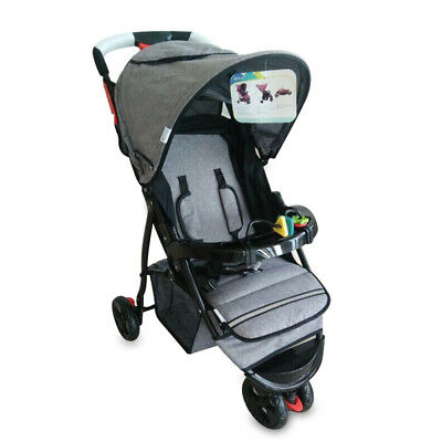 Foldable Pram Pushchair Kids Pram Baby Stroller Buggy Carriage Infant Travel Car