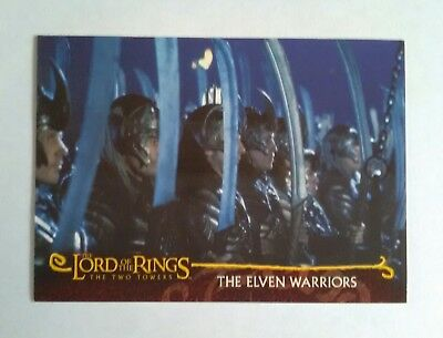 #C17 THE ELEVEN WARRIORS - 2002 Topps card LORD OF THE RINGS - The Two Towers