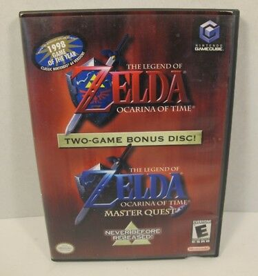 The Legend Of Zelda Ocarina Of Time & Master Quest (Nintendo Gamecube) - Tested