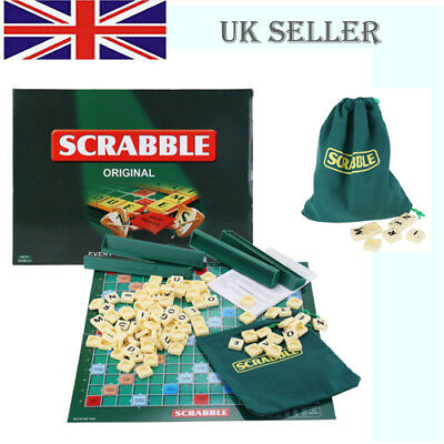 Scrabble Board Game Crossword Funny Family Children Party Gaming Travel Toy Gift