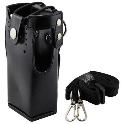 3X(FOR Motorola Hard Leather Case Carrying Holder FOR Motorola Two Way Radi Z5F3
