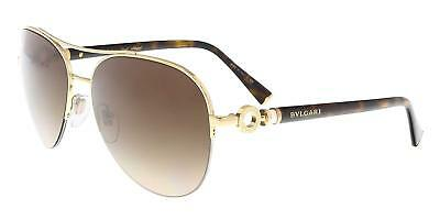 892a1f0a11 Authentic BVLGARI Le Gemme Collection BV6068K - 393 3B Sunglasses Gold NEW   59mm