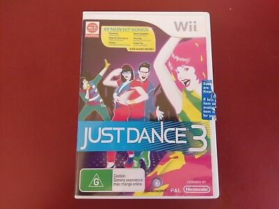 Just Dance 3  - Nintendo Wii Game Complete - Free Post