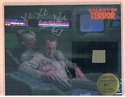 Autographed Photo By Taaffe C. O'Connell, Galaxy Of Terror, Authentic 13 Of 20
