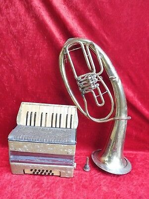 2 Old Istrumente__Accordion and Tenorhorn___