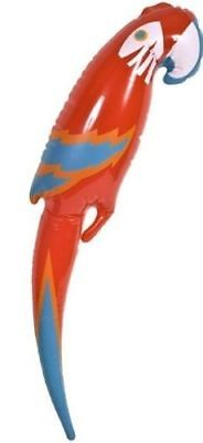Inflatable Blow Up Parrot Fancy Dress Party Toys Pirate Hawaiian Accessory 48cm