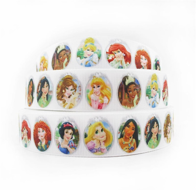 Grosgrain Ribbon Disney Girls #2 (1m, 2m or 5m)