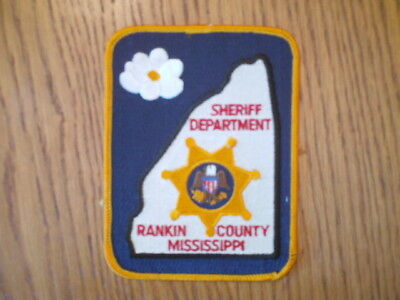 Rankin County Mississippi Sheriff's Dept. Patch