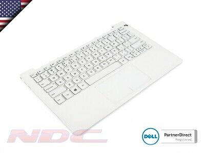 Dell XPS 13 9370 WHITE Palmrest & US-ENGLISH Backlit Keyboard - 0DP52R + 0FXCRT