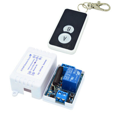 1Way 433Mhz Relay Module Wireless Remote Control Switch Transmitter&Receiver