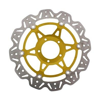 Brake Disc Front EBC Vee Rotor Gold For Ducati 848 2008 - 2009